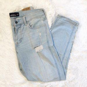 Hollister Vintage Boyfriend Distressed Jeans